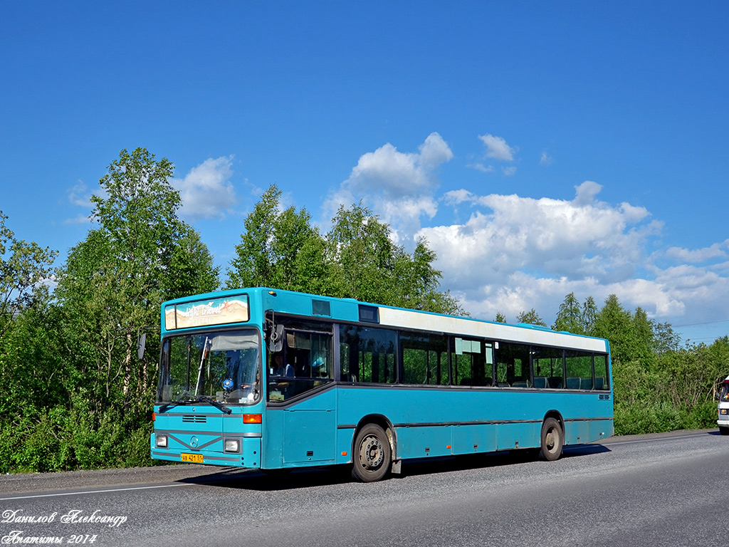 Murmansk region, Mercedes-Benz O405N # АВ 421 51