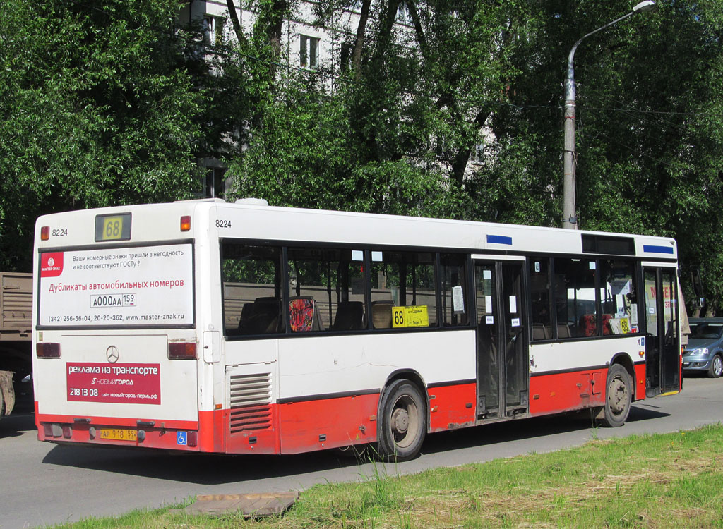 Perm region, Mercedes-Benz O405N2 # АР 918 59