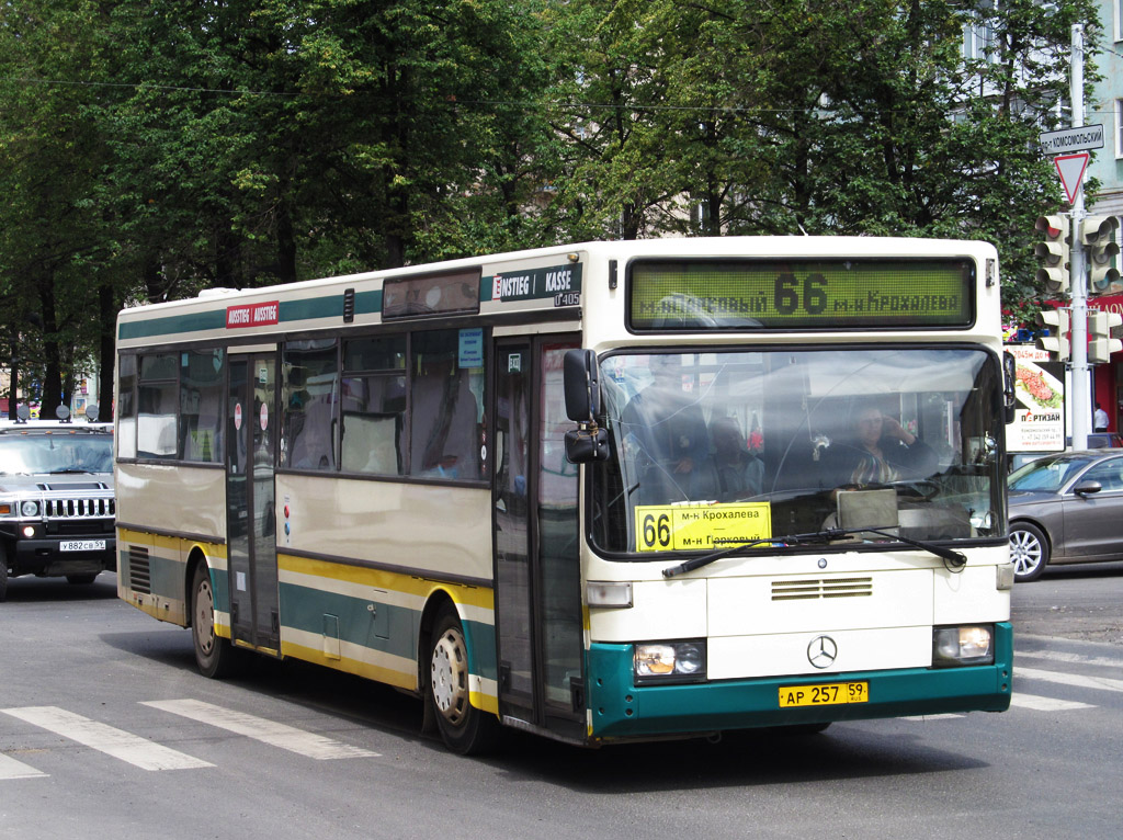 Perm region, Mercedes-Benz O405 # АР 257 59