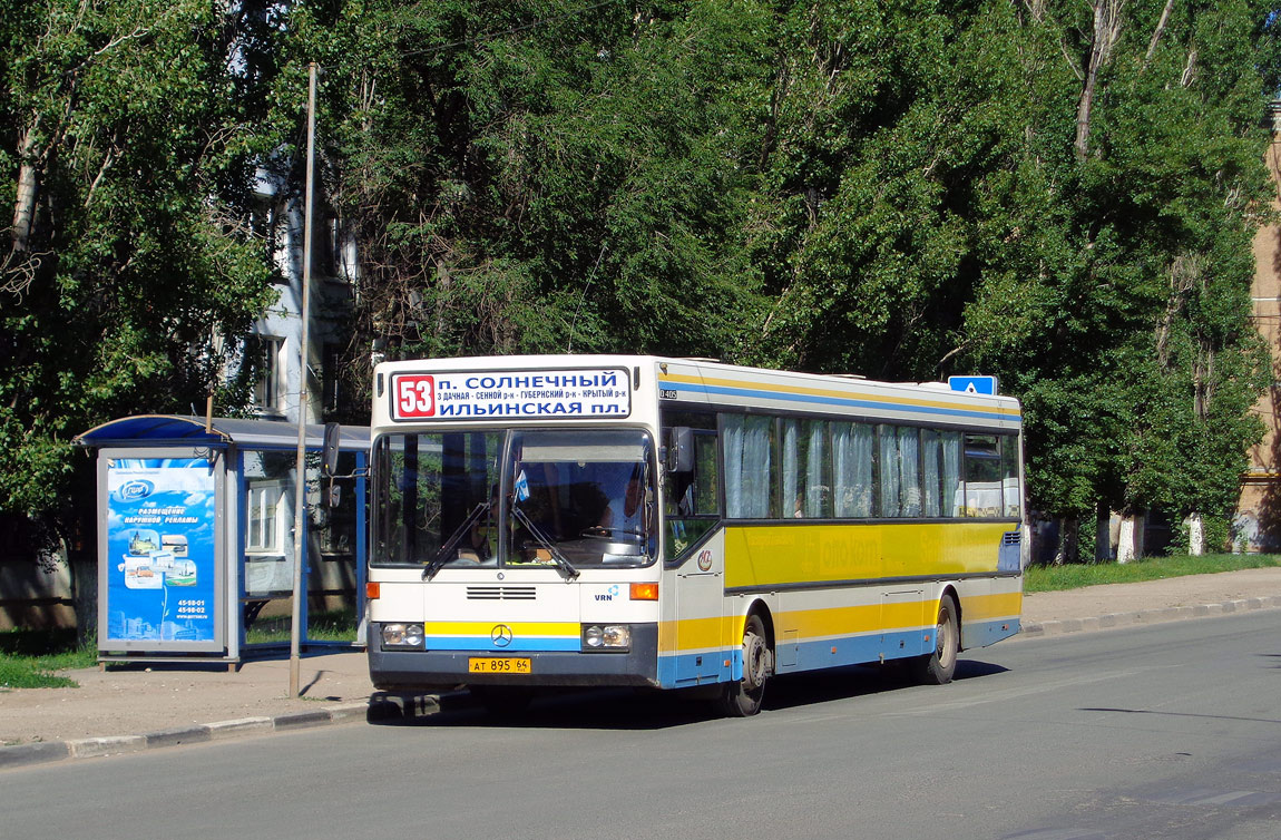 Saratov region, Mercedes-Benz O405 # АТ 895 64