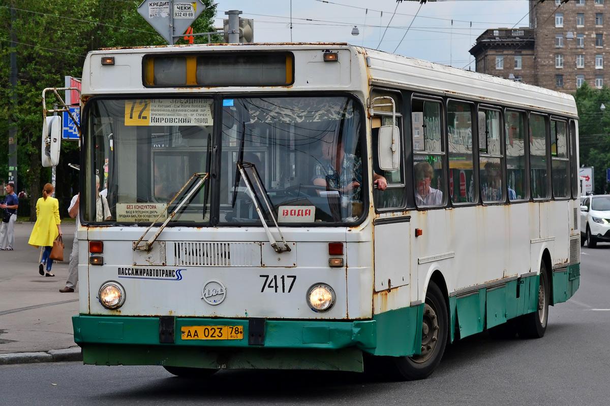 Saint-Petersburg, LiAZ-5256.25 # 7417