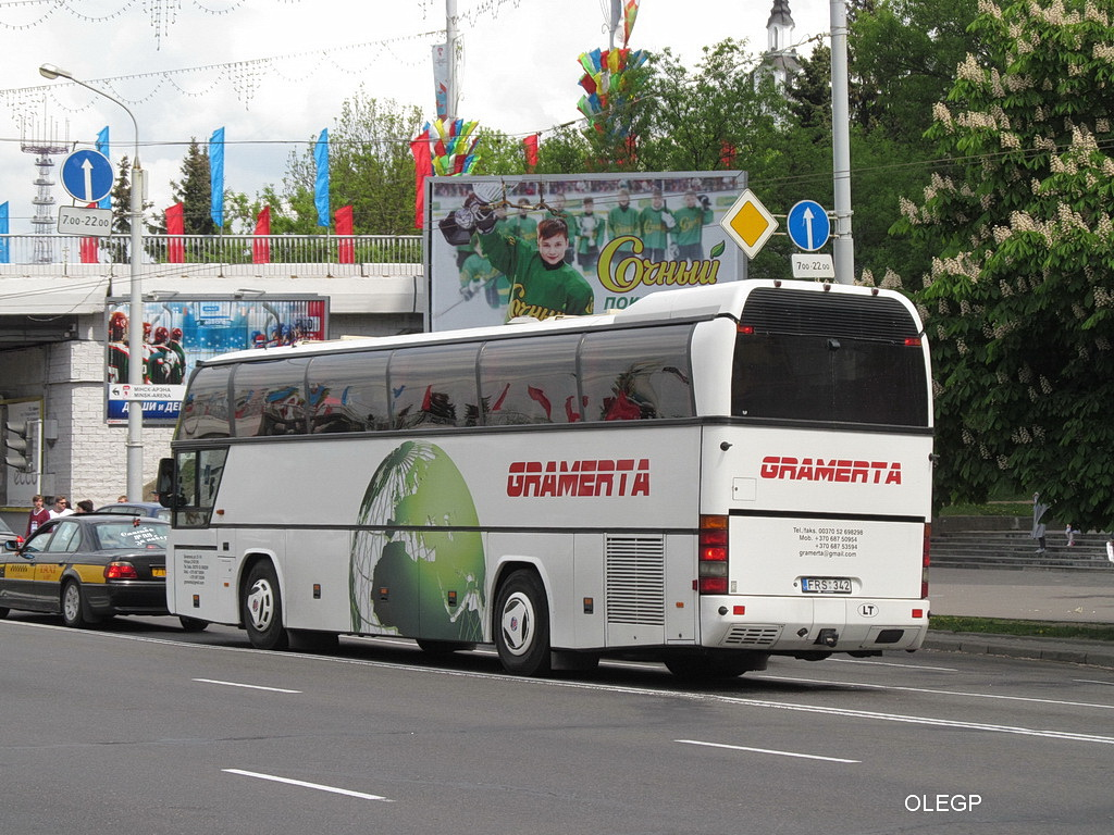Lithuania, Neoplan N116 Cityliner # FRS 342