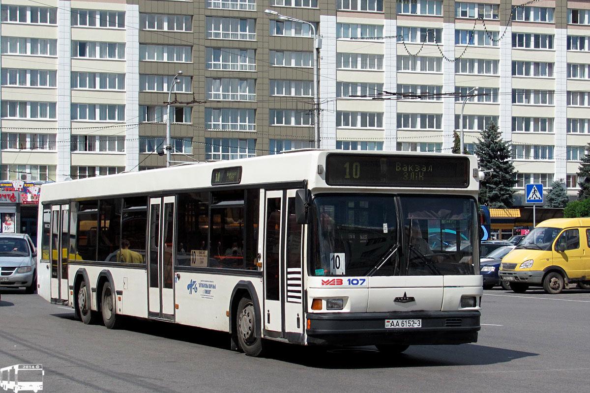 Гомельская область, МАЗ-107.066 № АА 6152-3