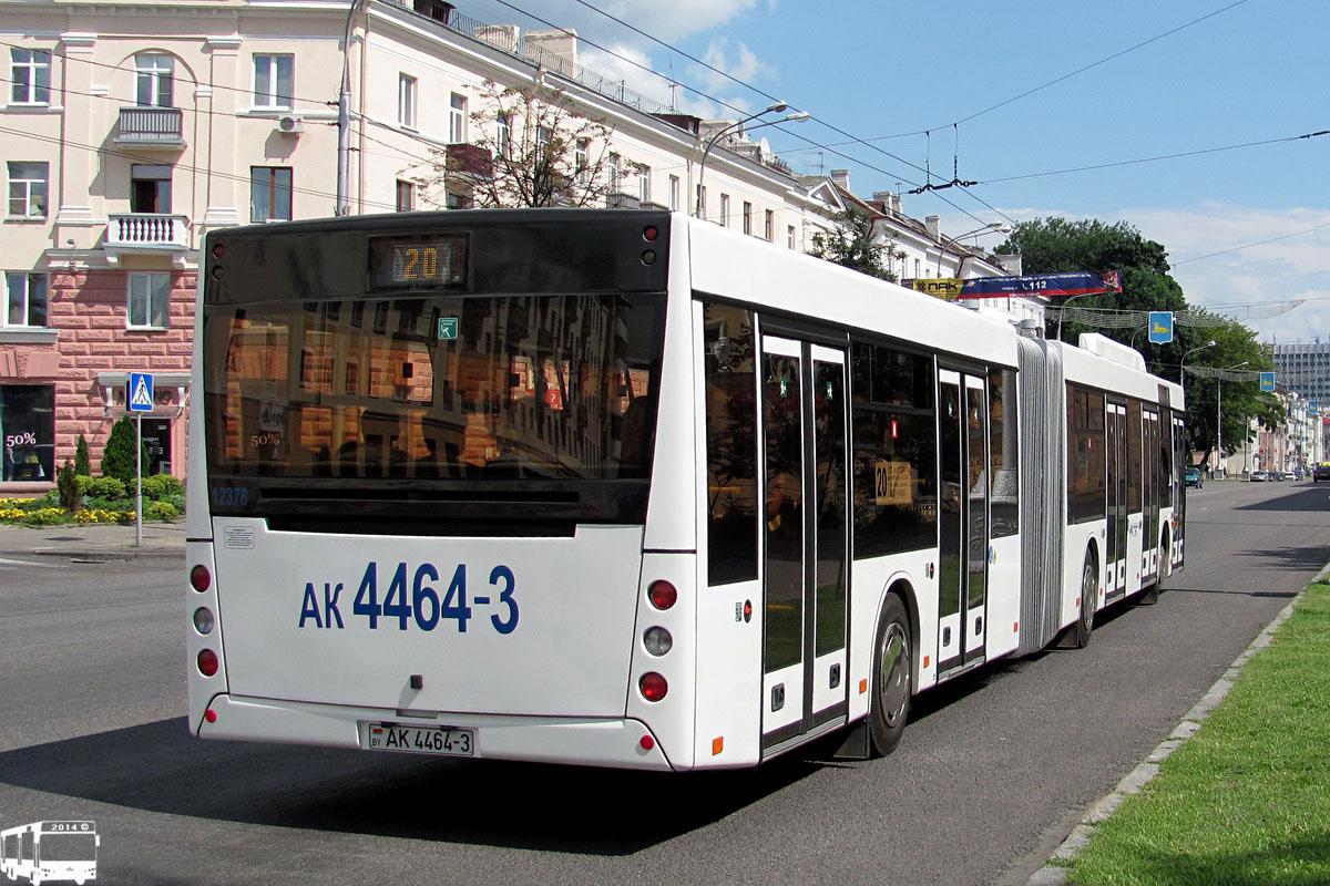Гомельская область, МАЗ-215.069 № 12378