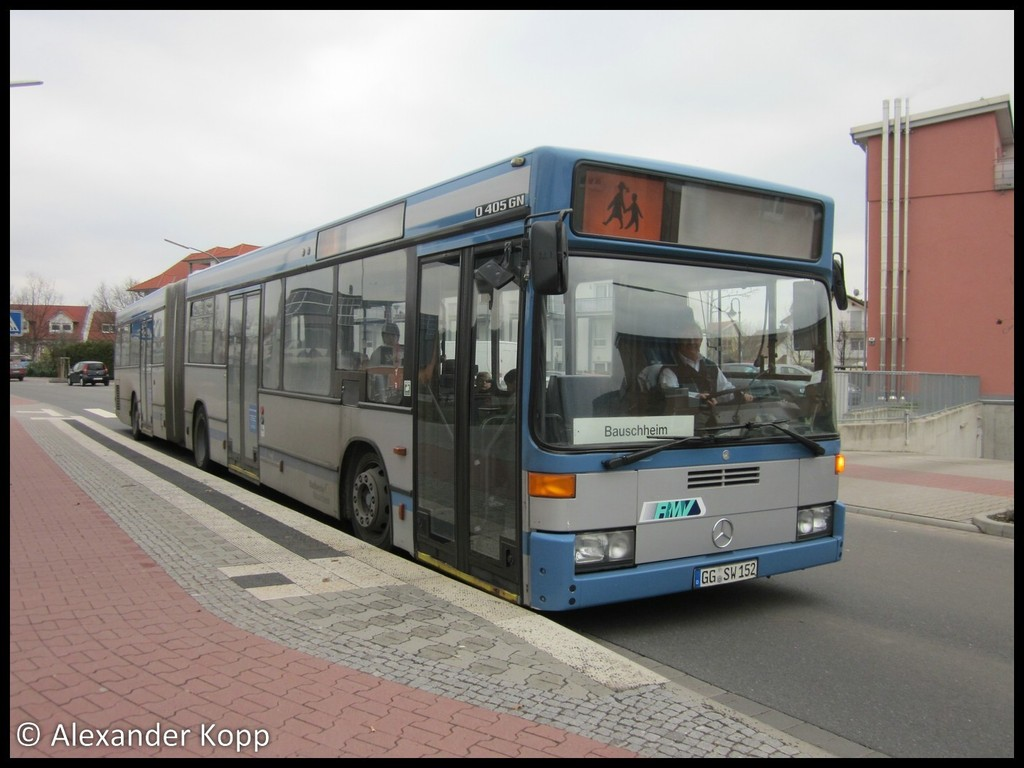 Germany, Mercedes-Benz O405GN2 # 152
