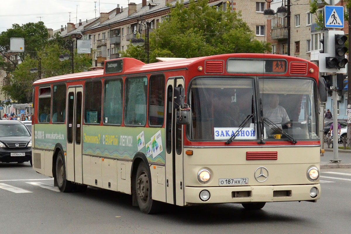 Tumen region, Mercedes-Benz O307 # О 187 НХ 72