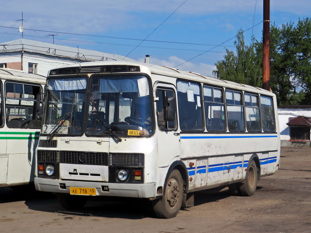 Kirov region, PAZ-4234 (00, T0, K0, B0) # АЕ 718 43