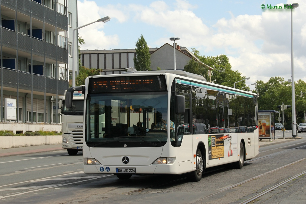 Germany, Mercedes-Benz O530 Citaro # DA-AK 224