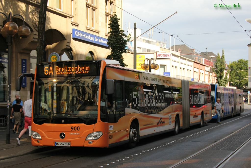 Germany, Mercedes-Benz O530 Citaro G # 900