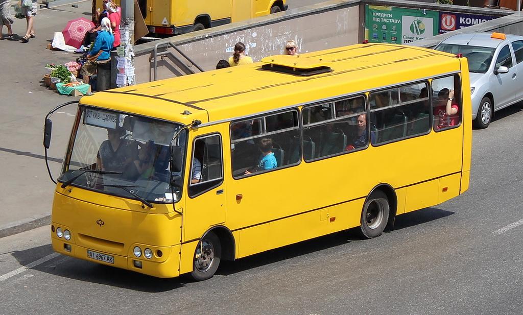 Kyiv region, Bogdan A09202 # АІ 6967 АК