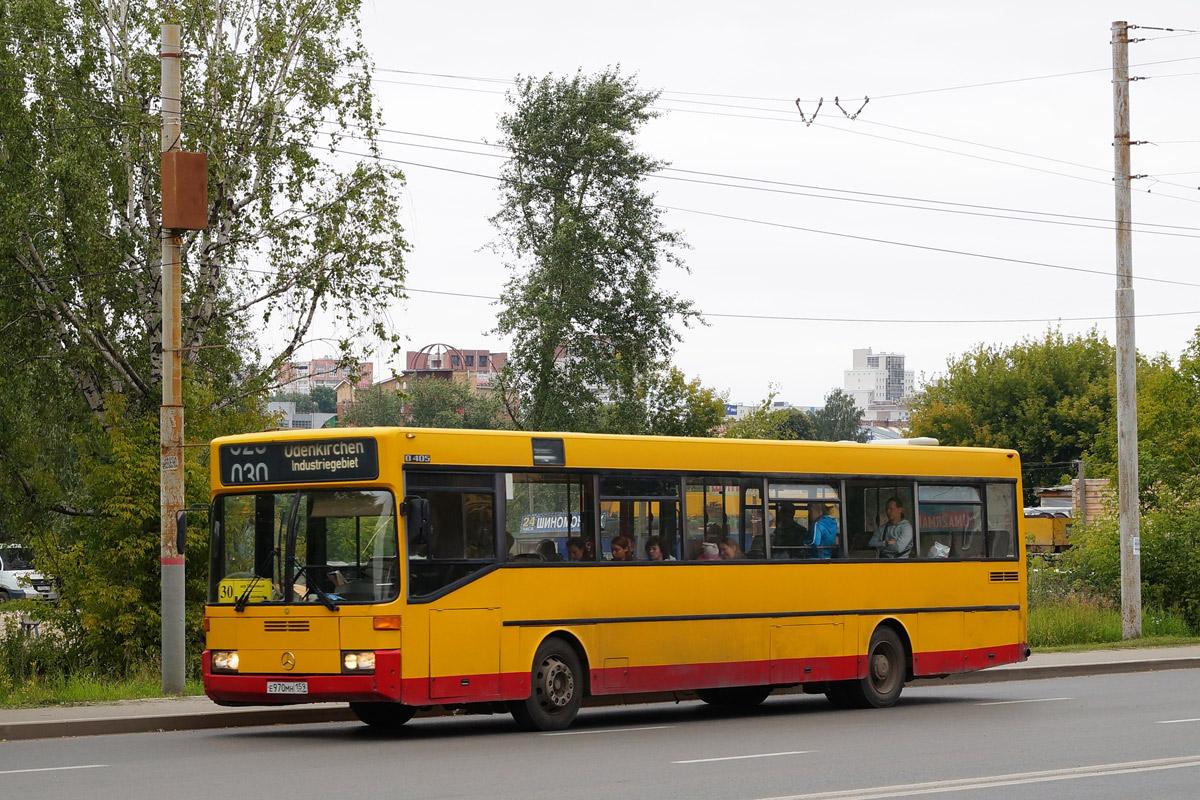 Perm region, Mercedes-Benz O405 # Е 970 МН 159