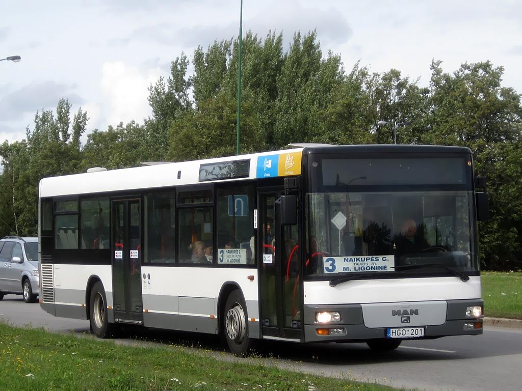 Lithuania, MAN A21 NL223 # HGO 201