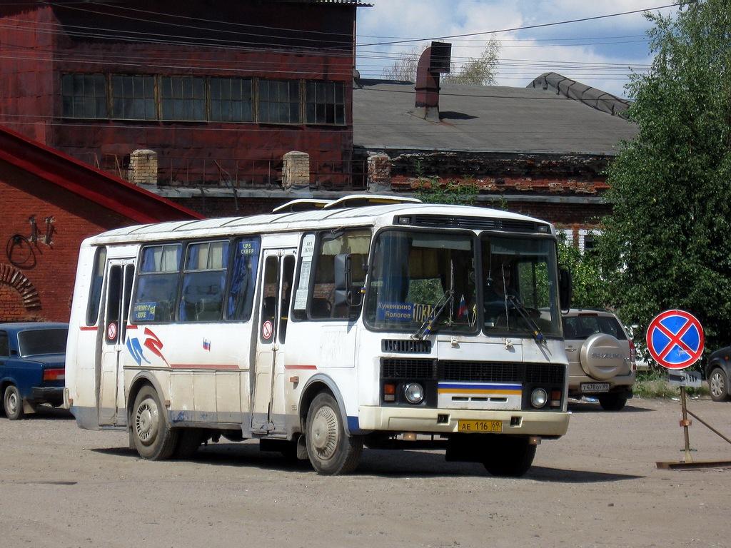 Tver region, PAZ-4234 (00, T0, K0, B0) # АЕ 116 69