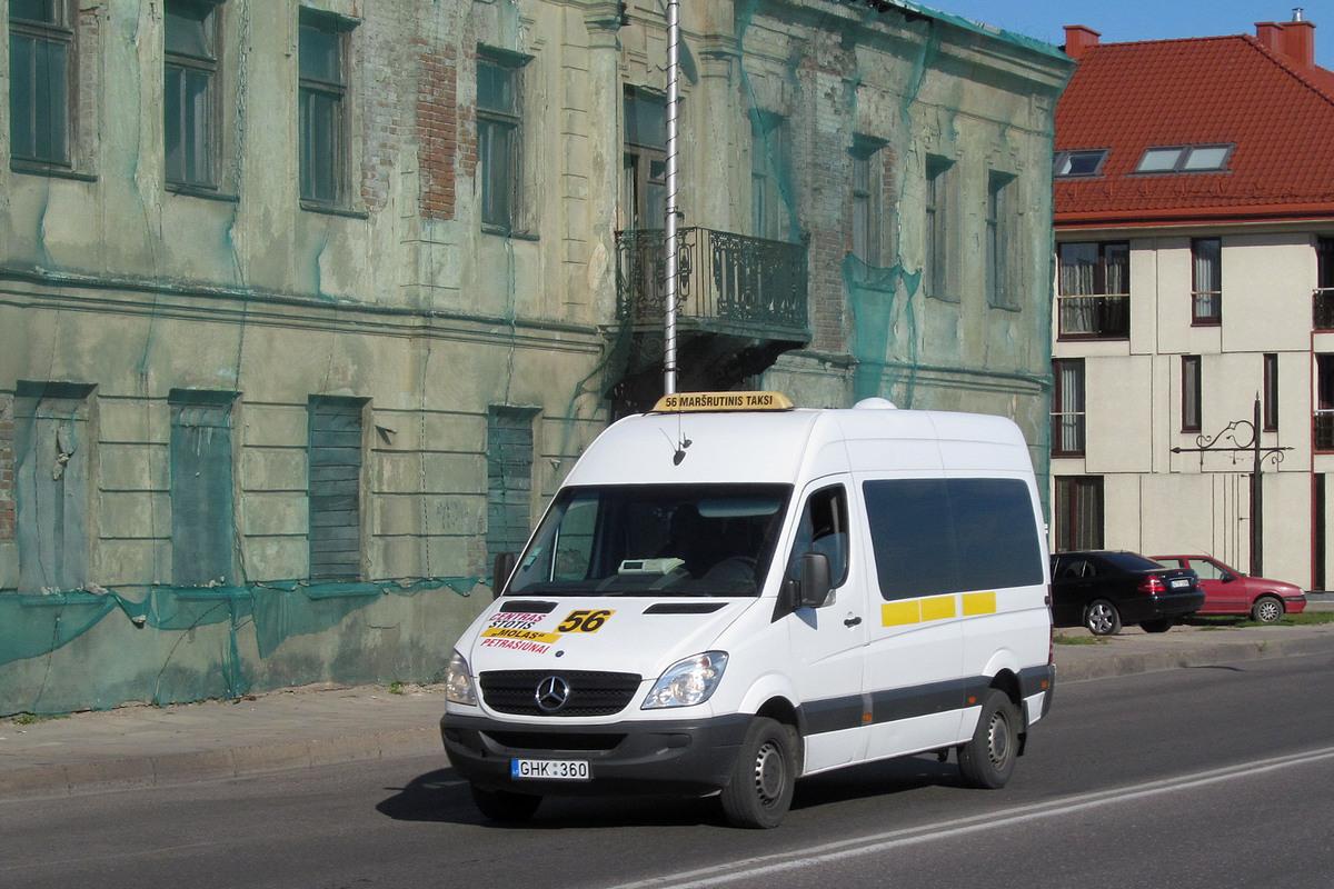 Lithuania, Mercedes-Benz Sprinter 311CDI # GHK 360