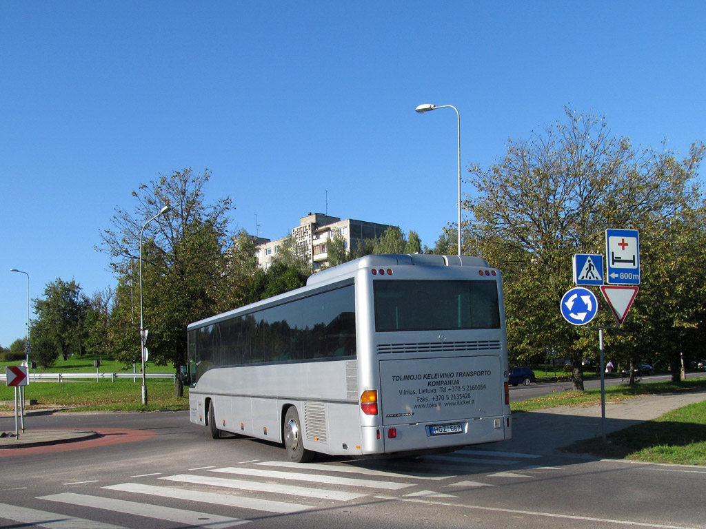 Lithuania, Mercedes-Benz O550 Integro # 60