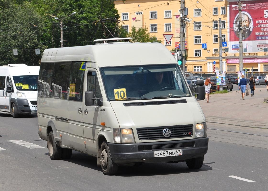 Smolensk region, Volkswagen LT46 # С 487 МО 67