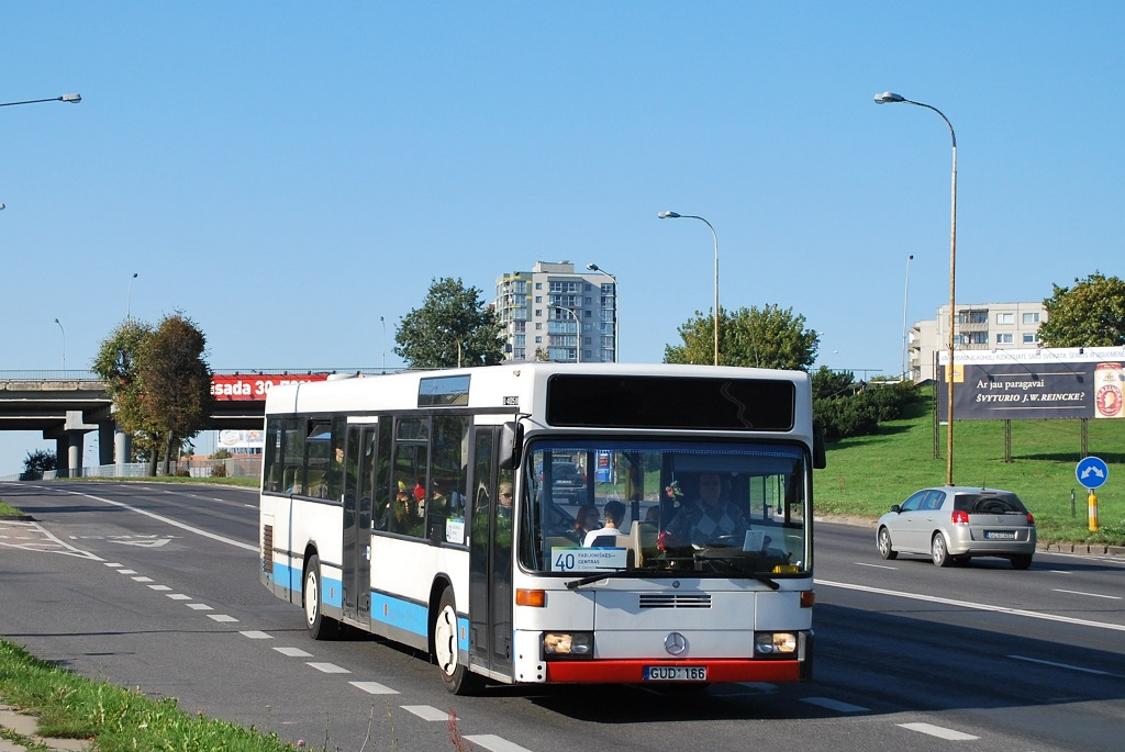 Lithuania, Mercedes-Benz O405N2 # GUD 166