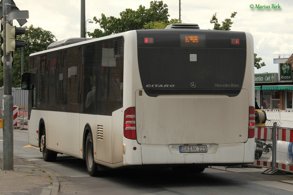 Germany, Mercedes-Benz O530 Citaro # DA-AK 221