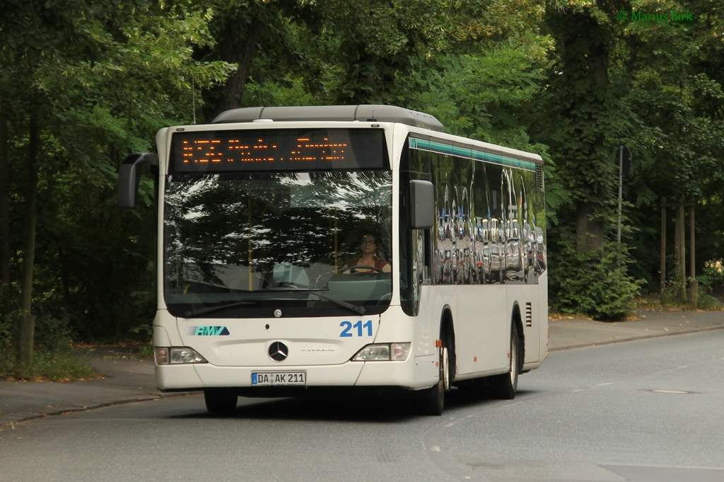 Germany, Mercedes-Benz O530 Citaro # DA-AK 211