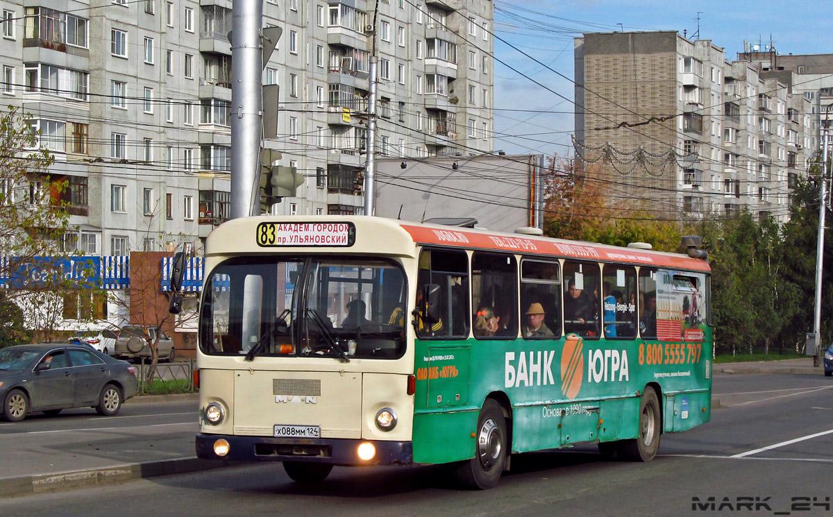 Krasnoyarsk region, MAN SL200 # Х 088 ММ 124