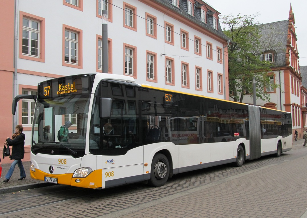 Germany, Mercedes-Benz O530 Citaro G # 908