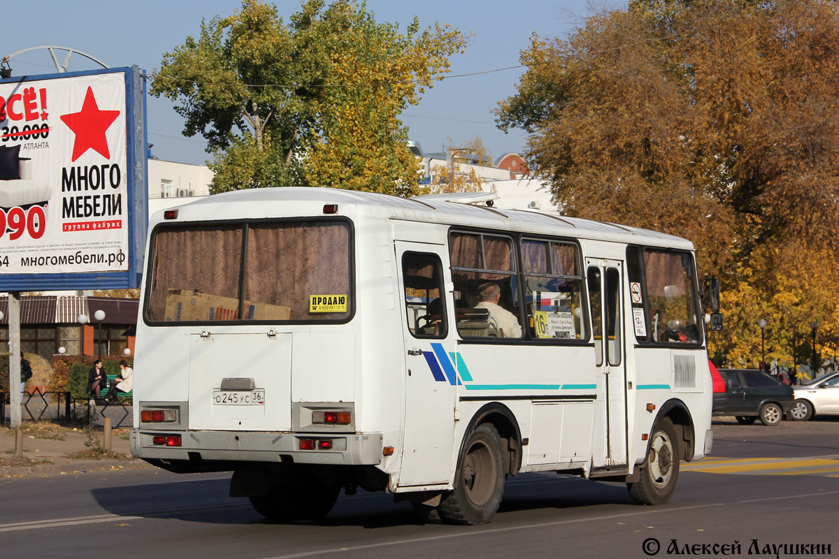 Voronezh region, PAZ-32053-07 (3R, ER, CR) # О 245 УС 36