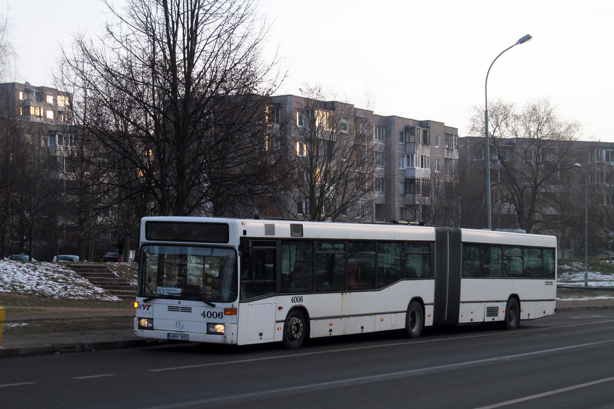 Lithuania, Mercedes-Benz O405GN2 # 4006