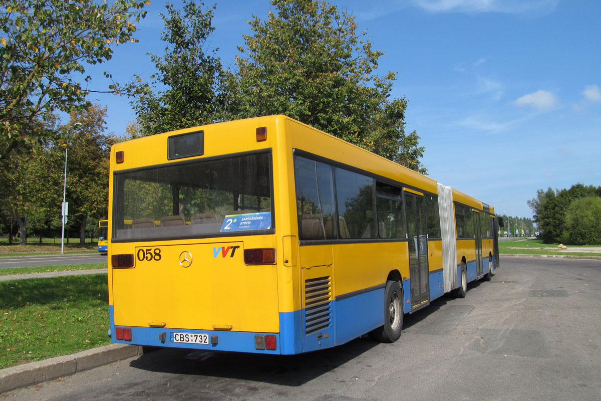 Lithuania, Mercedes-Benz O405GN # 058