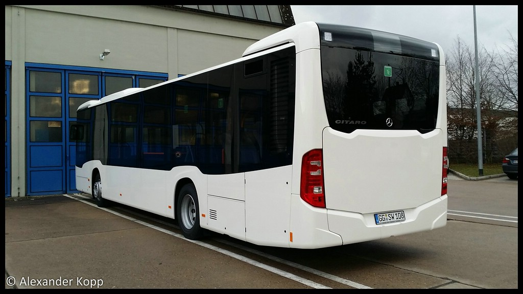 Germany, Mercedes-Benz O530 Citaro # 108