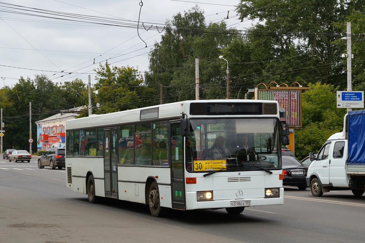 Perm region, Mercedes-Benz O405N2Ü # Е 318 ЕХ 159