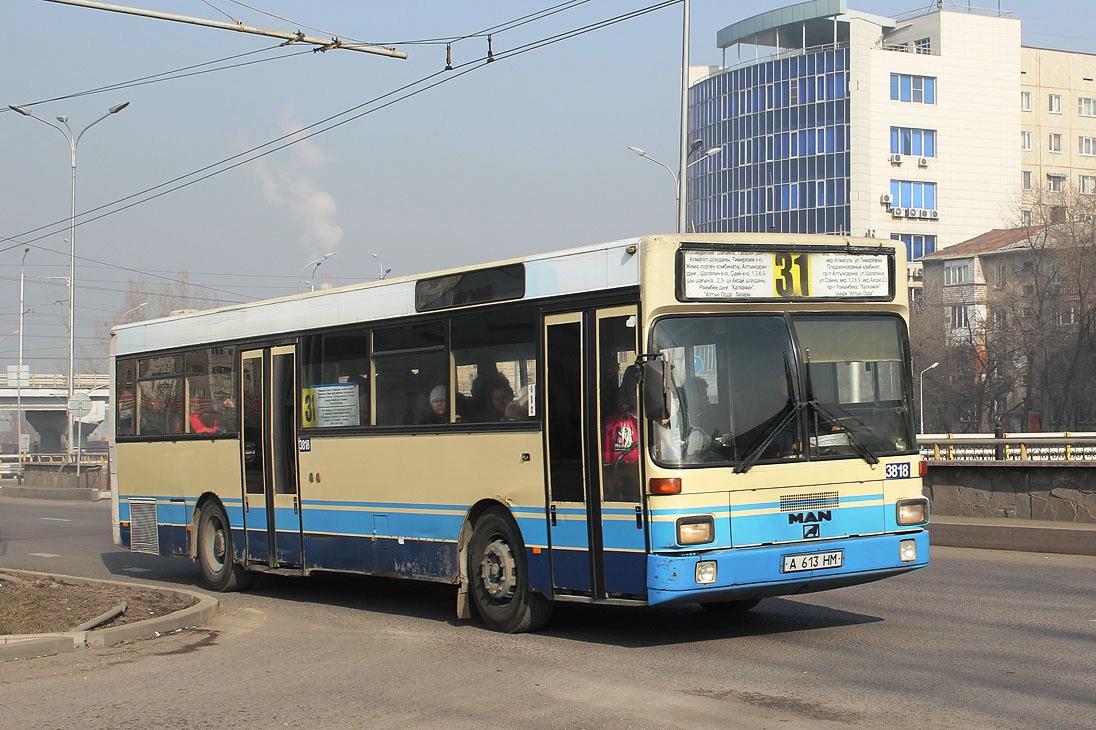 Almaty, MAN SL202 # 3818