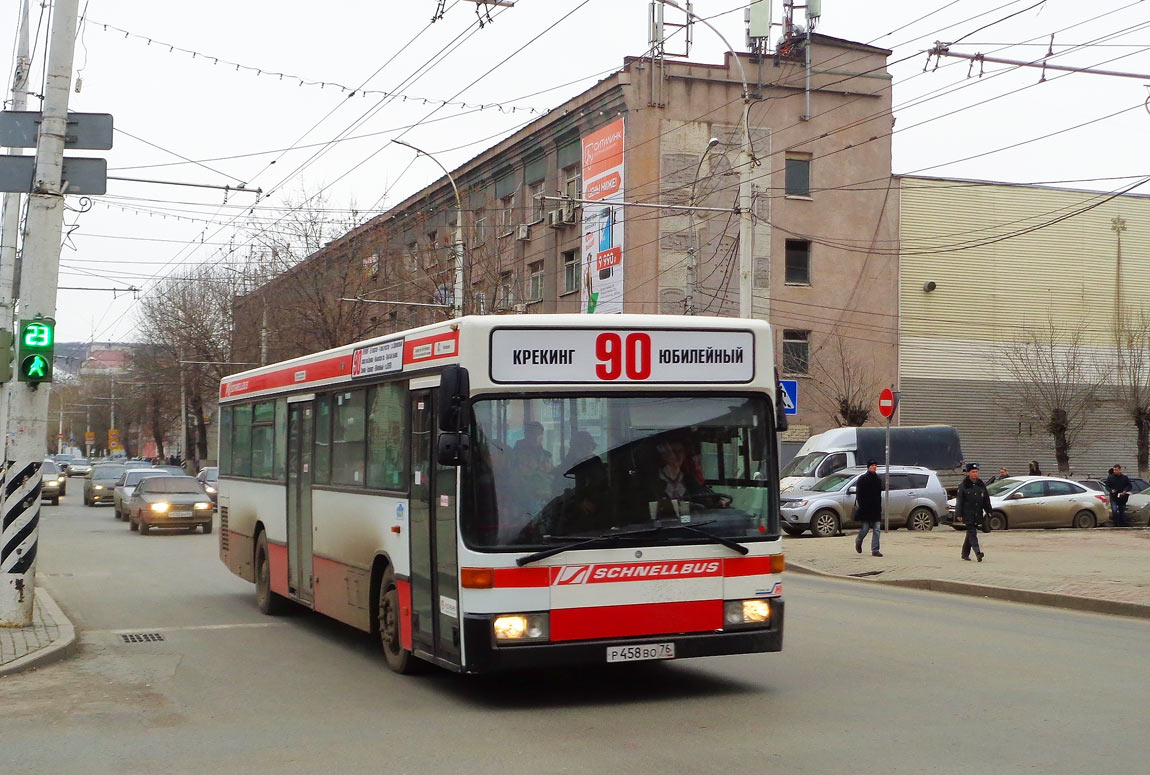 Saratov region, Mercedes-Benz O405N # Р 458 ВО 76