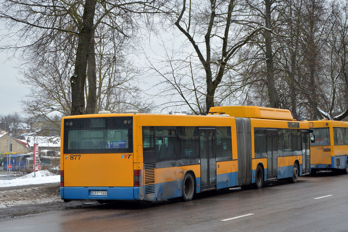 Lithuania, MAN A23 NG313 CNG # 877