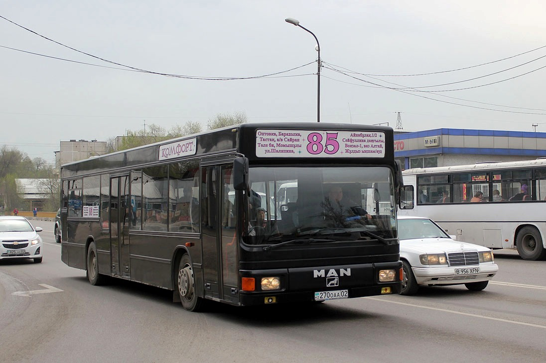 Almaty, MAN A10 NL202 # 270 OAA 02