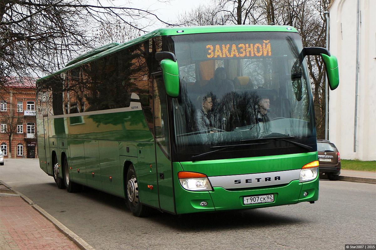 Moscow region, Setra S419GT-HD # 2454