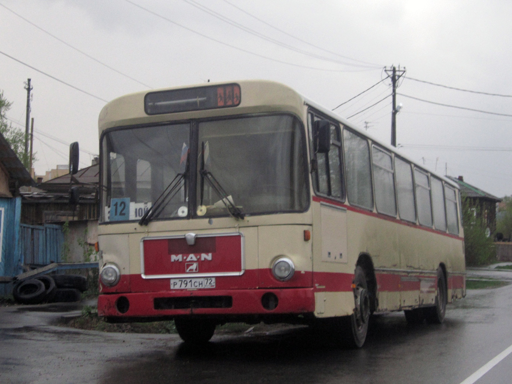 Tumen region, MAN SL200 # Р 791 СН 72