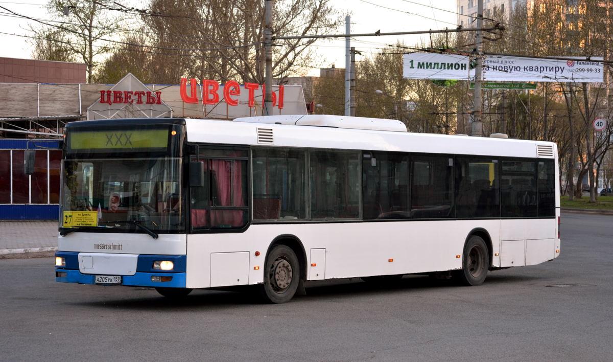 Perm region, MAN A21 NL263 # А 205 УК 159