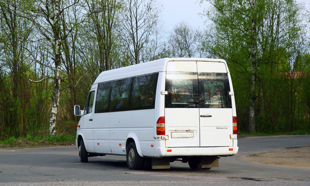 Saint-Petersburg, Mercedes-Benz Sprinter 408CDI # А 794 ВА 178