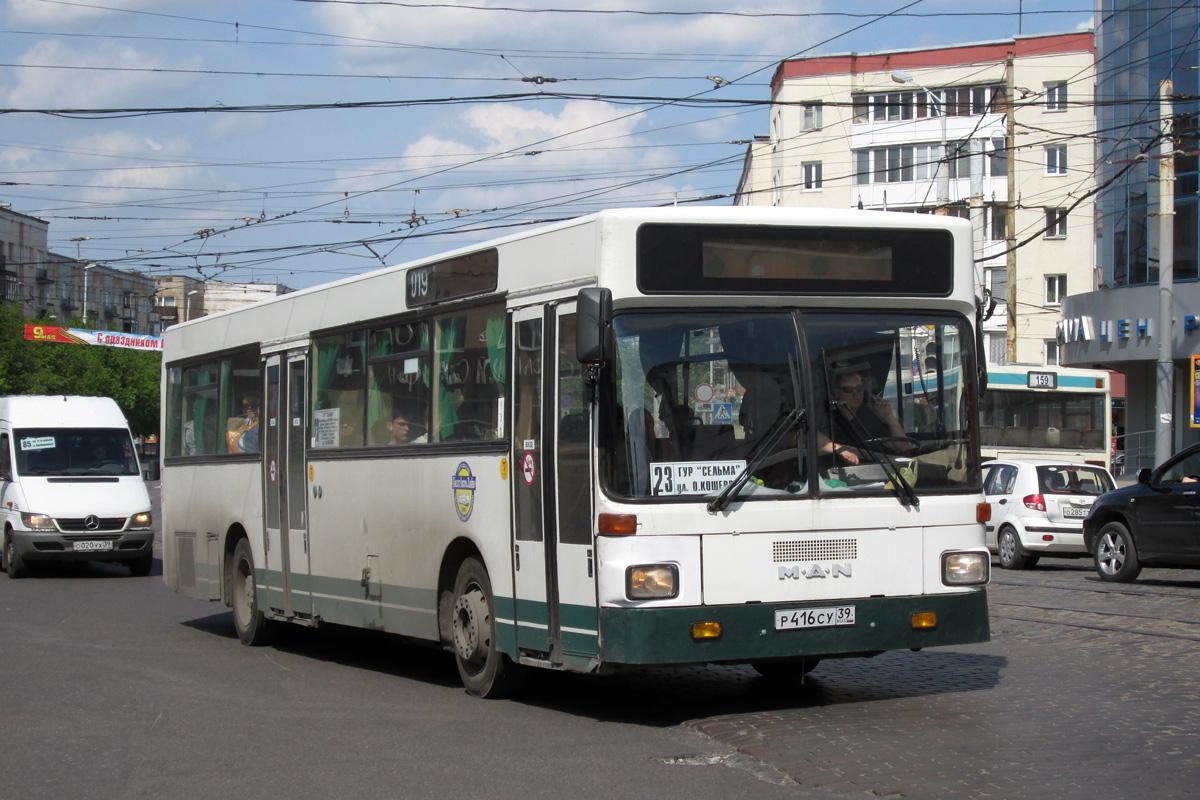 Kaliningrad region, MAN SL202 # Р 416 СУ 39