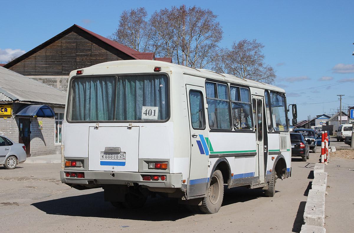 Arhangelsk region, PAZ-32053 (30, E0, C0, B0) # К 888 ЕВ 29