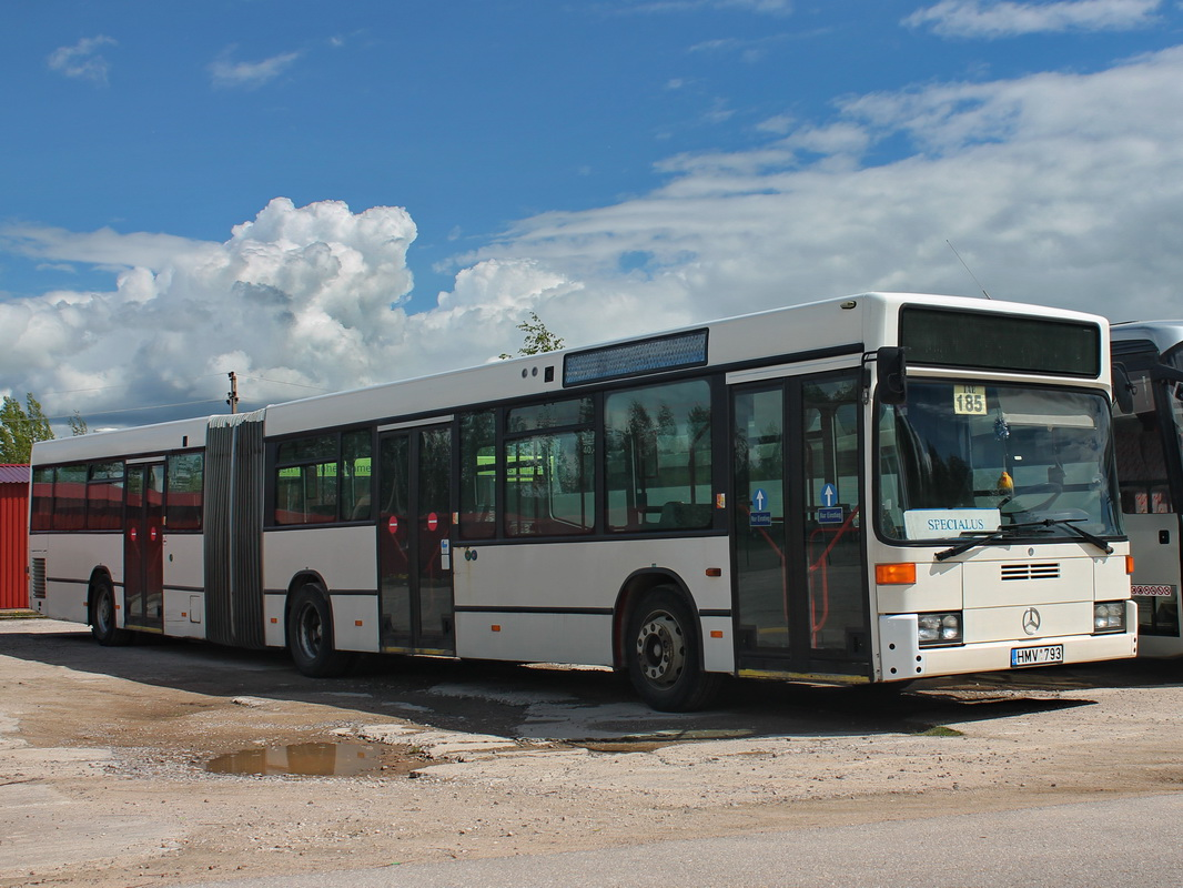 Lithuania, Mercedes-Benz O405GN2 # HMV 793