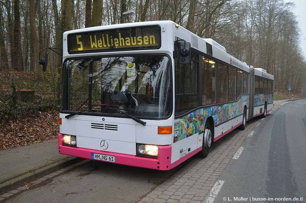 Germany, Mercedes-Benz O405GN2 # 61