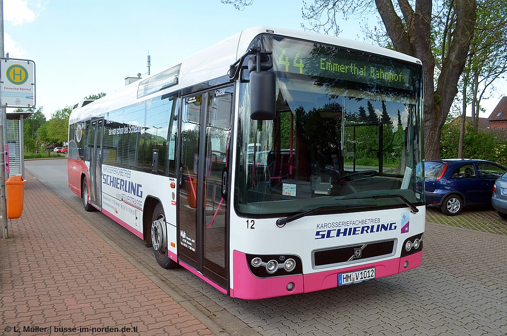 Germany, Volvo 7700 # 12