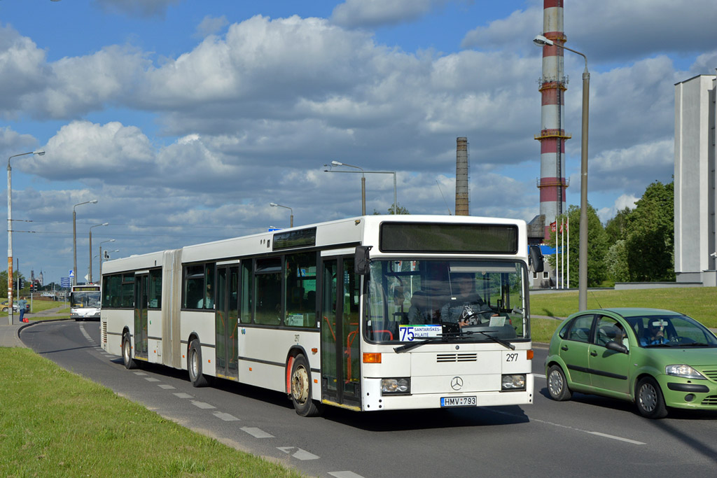 Lithuania, Mercedes-Benz O405GN2 # 297