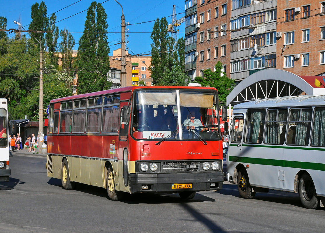 Полтавская область, Ikarus 256 № ВІ 2153 АА
