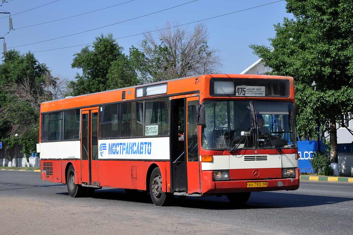 Moscow region, Mercedes-Benz O405 # 39258
