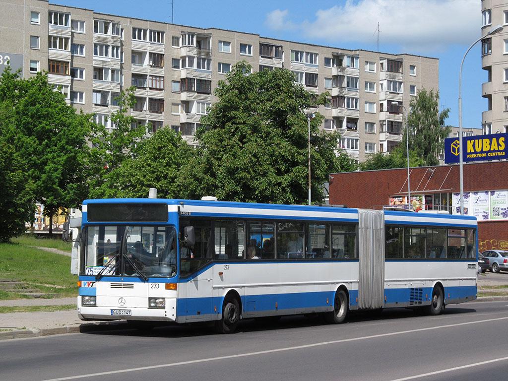 Lithuania, Mercedes-Benz O405G # 273