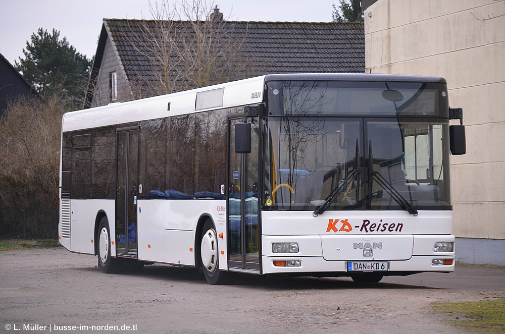 Germany, MAN A20 NÜ263 # DAN-KD 6
