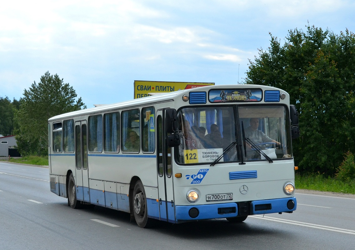 Tumen region, Mercedes-Benz O307 # Н 700 ОТ 72