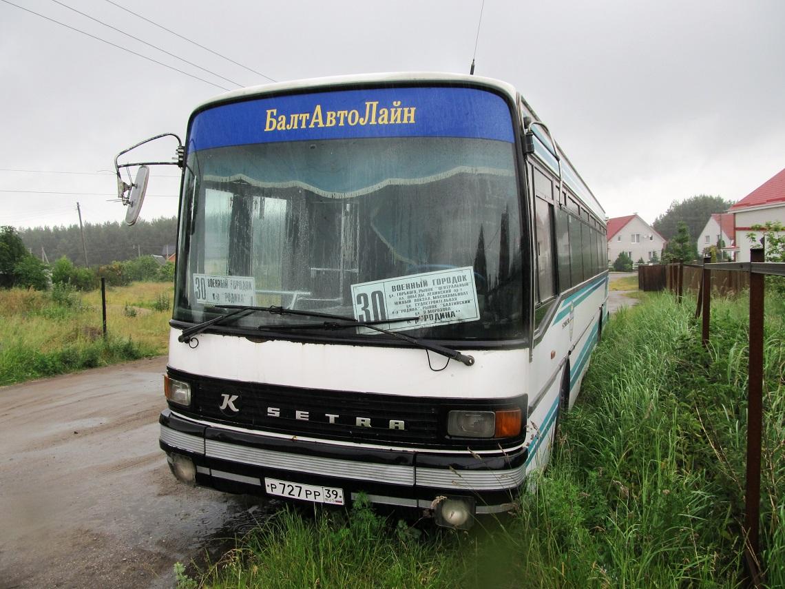 Калининградская область, Setra S215SL (France) № Р 727 РР 39